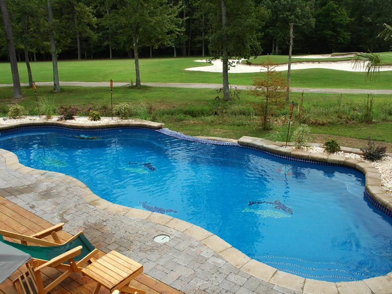 Refreshing Pools Spas Swimming Pool Features From Viking Builder Of Inground Fiberglass And Spa S In Central Florida